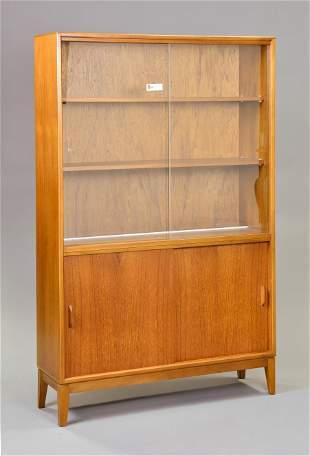 Mid Century Modern Display Cabinet / Bookcase - Gibbs