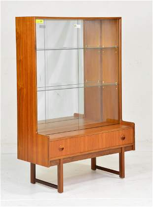 Mid Century Display Cabinet / Bookcase - Turnidge #2
