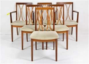Set of 6 Mid Century Modern G-Plan Chairs