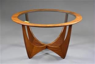 Teak G-Plan Round Astro Coffee Table #1