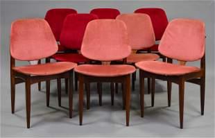 8 Mid Century Dining Chairs - Elliots of Newbury