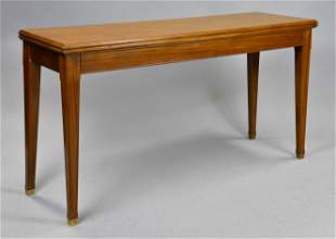 Mid Century Modern Flip Top Library / Dining Table