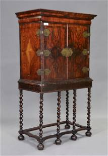 18th Century William & Mary Cabinet on Stand