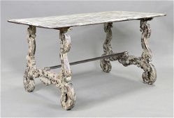 Painted Gray Table