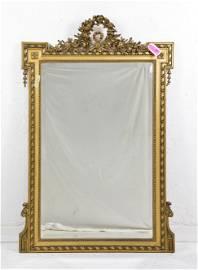 Louis XVI Style Mirror Gilt