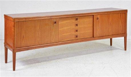 Danish Modern Teak Sideboard by H W Klein for Bramin