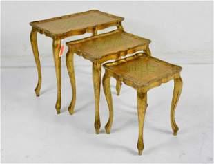 Florentine Nest Of 3 Tables