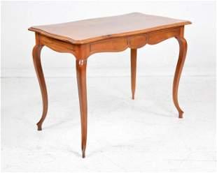 Louis XV Style Walnut Writing Table