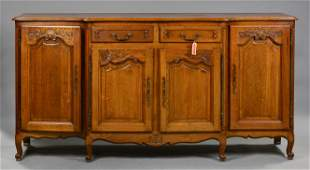 Country French Parquet Top Server / Sideboard #2