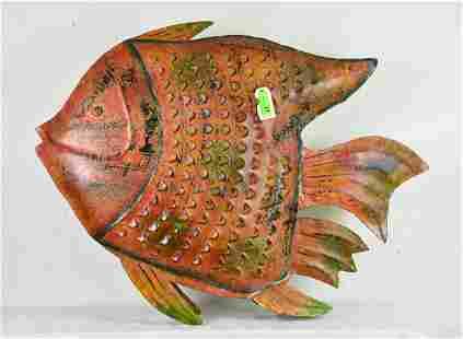 Large Metal Fish