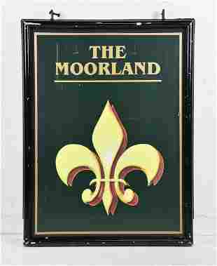 British Double Sided Pub Sign - The Moorland