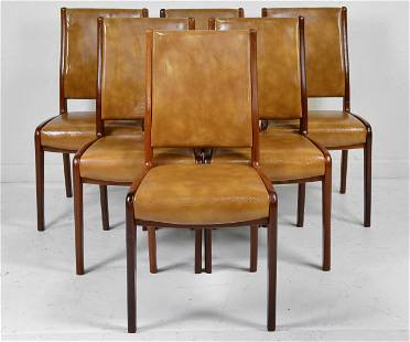 6 Mid Century Modern Dining Chairs