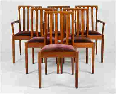 6 Mid Century Modern Dining Chairs - Meredew