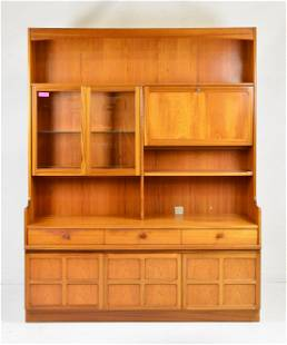 Mid Century Modern Cocktail Bookcase - Parker Knoll