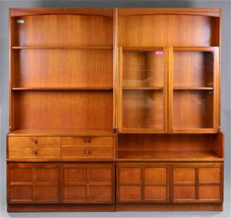 Pair of Mid Century Modern Bookcases - Parker Knoll #1