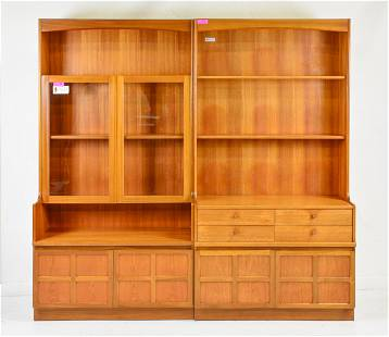Pair of Mid Century Modern Bookcases - Parker Knoll #2