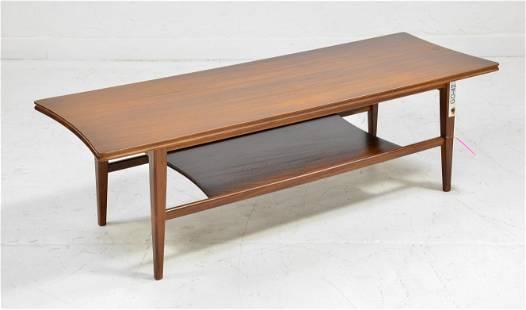 Mid Century Modern 2 Tier Coffee Table Hornby #1
