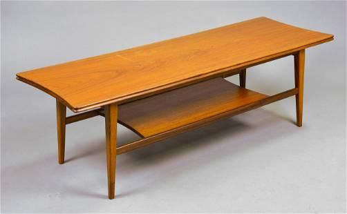 Mid Century Modern 2 Tier Coffee Table Hornby #2