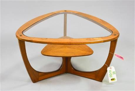 Mid Century Modern Triangular Coffee Table