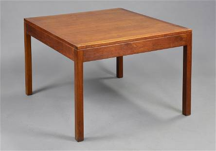 Square Danish Modern Coffee Table - Borge Mogensen
