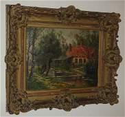 64: Armand Guery, Fr. 1850-1912, oil on Panel