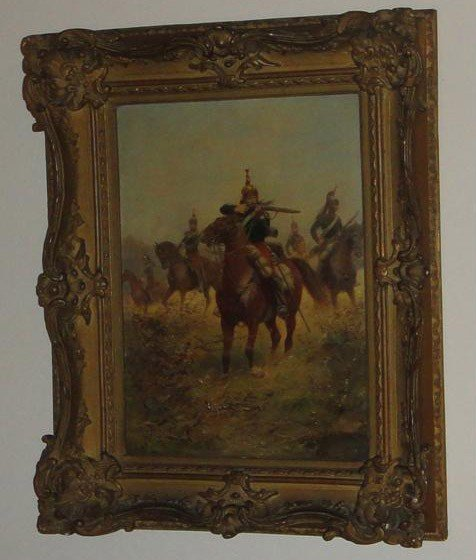 65: Paul Emile Leon Perboyre fr. 1851-1929 Oil on Canva