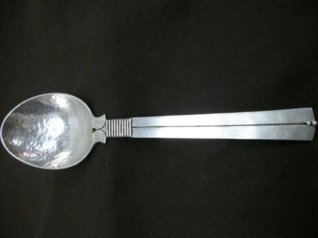 Wm Spratling Sterling Serving Spoon