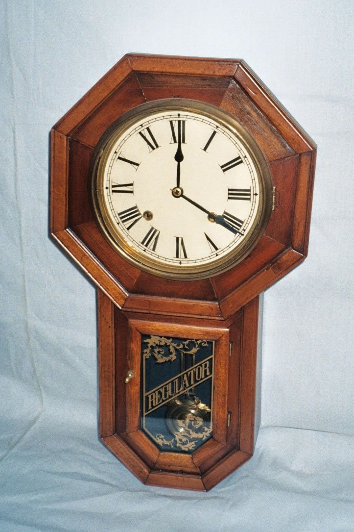 1: Octagon Drop Wall Clock