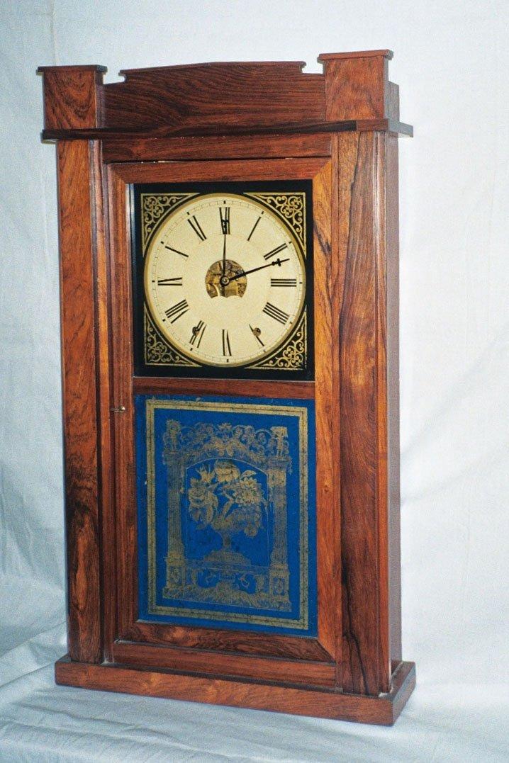 2: American Rosewood Clock