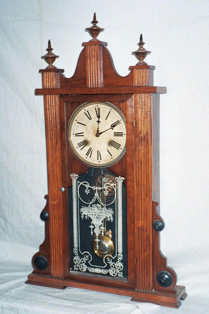 6: Waterbury Mantel Clock