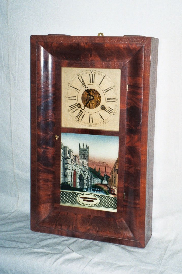 10: G. Boardman Clock in Cherry