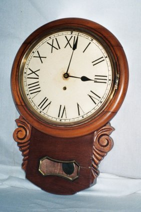 English Short Drop Clock