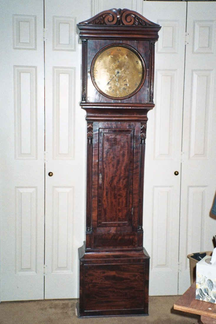 81: English Grandfather Clock