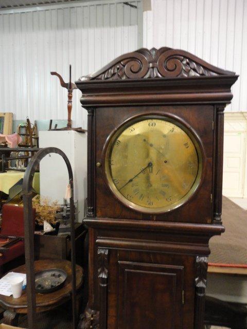 81: English Grandfather Clock - 8