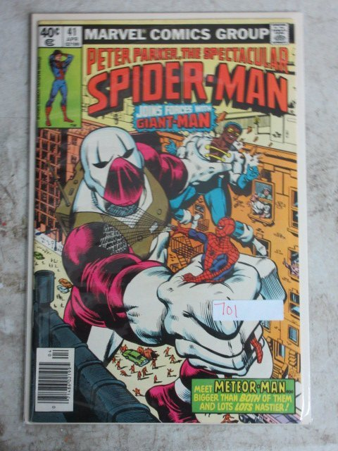 spectacular Spider-man # 41 , 1980 marvel