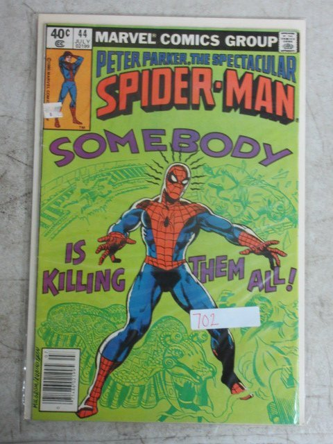 peter parker spectacular Spider-man # 44 , 1980 marvel