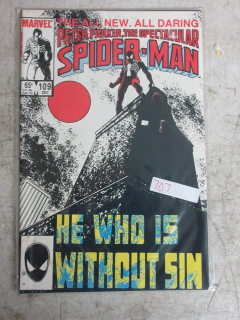 peter parker spectacular Spider-man # 109 , 1985 marvel