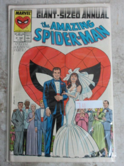amazing Spider-man annual # 21 , 1987 marvel