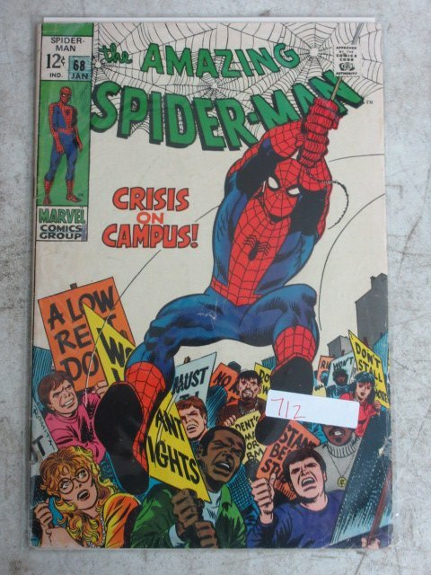 amazing Spider-man # 68 , 1969 marvel
