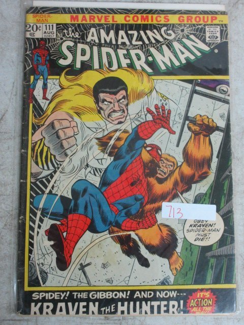 amazing Spider-man # 111 , 1972 marvel