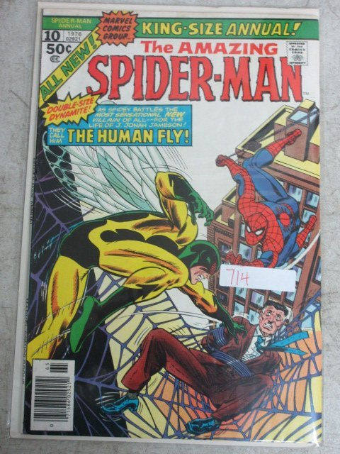 amzing Spider-man annual # 10 , 1976 marvel