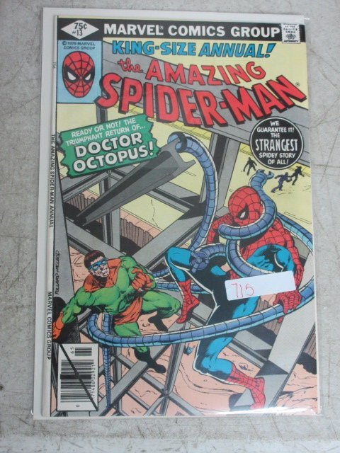 amazing Spider-man annual # 13 , 1979 marvel