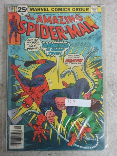 amazing Spider-man # 159 , 1976 marvel