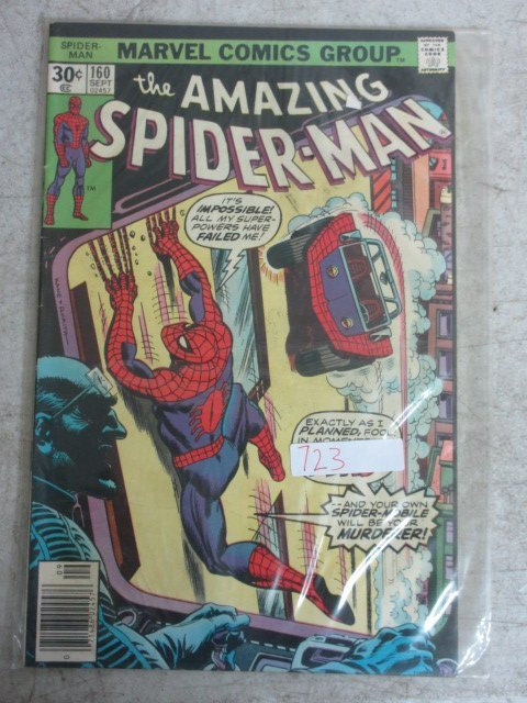 amazing Spider-man # 160 , 1976 marvel