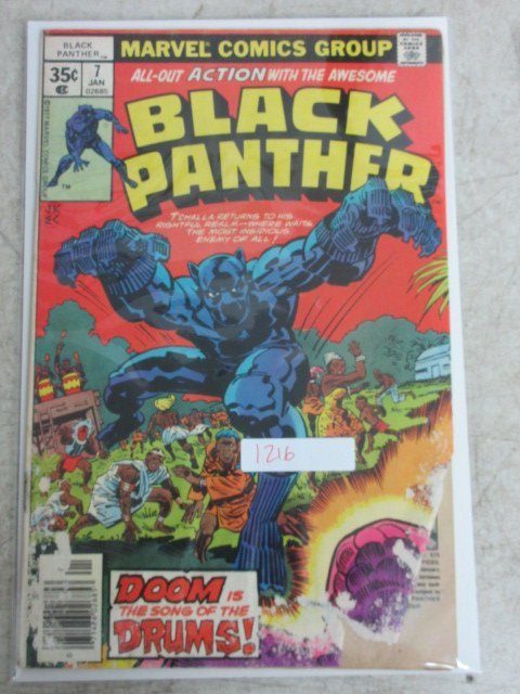 black panther # 7 , 1978 marvel