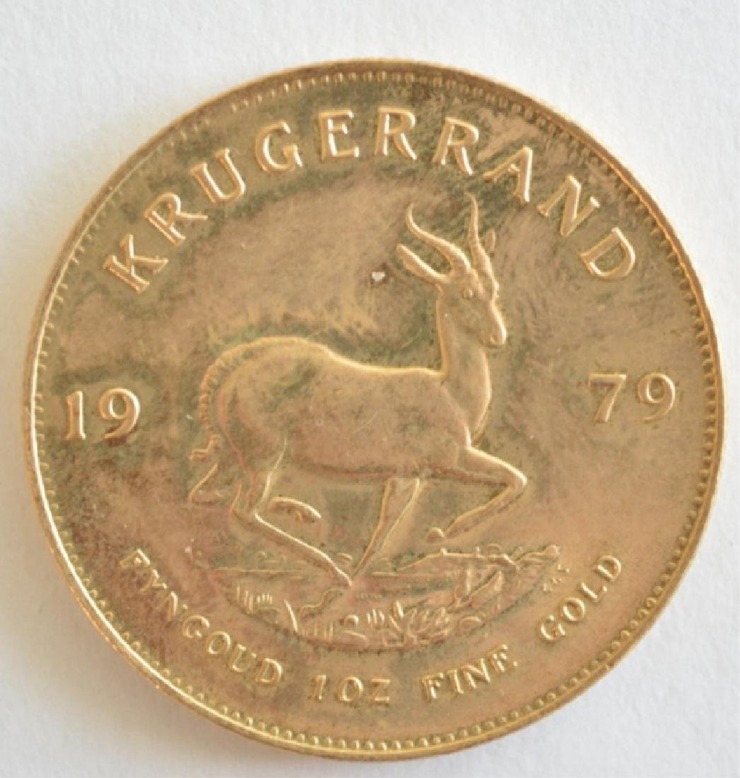 1979 South Africa Krugerrand One Ounce Gold Coin