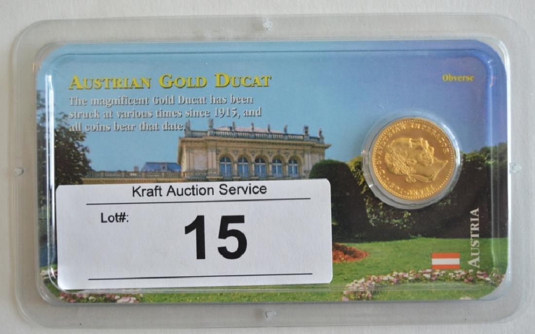 Austrian Gold 1 Ducat Coin