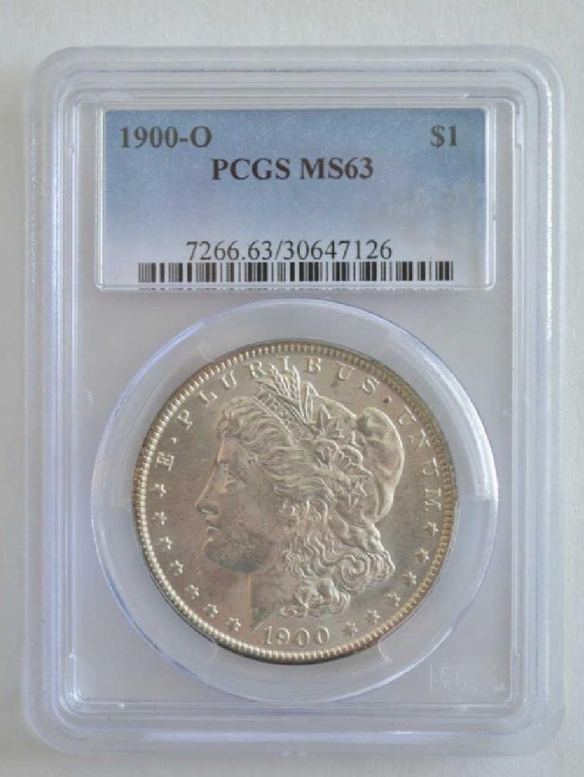1900-O PCGS MS 63 Morgan Dollar