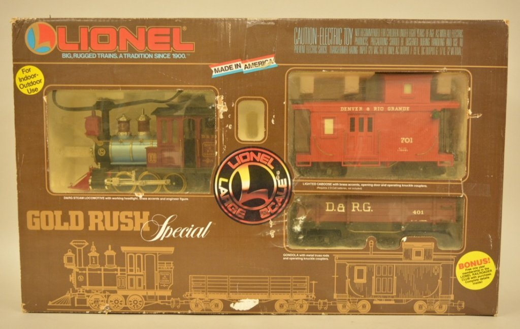 Lionel Large Scale Gold Rush Special Set