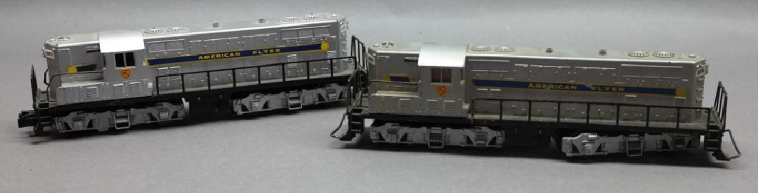 American Flyer GM Diesel 370 & 371 Train Engines